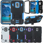 Hybrid Armor Stand Tuff Tri-layer Case Cover For Samsung  Galaxy S5 Active G870