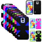 Phone Case For Samsung Galaxy S5 Dual-Layered Dynamic Hard Cover G900 Accessory