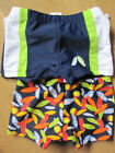 Pack of 2 Boys Swim Trunks Shorts    9-12  12-18  months   NEW