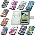 For SAMSUNG GALAXY ACE 3 s7272 s7270 wallet leather case cover skin China seller