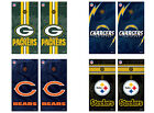 Choose Your NFL Football Team Tailgate Toss Cornhole Vinyl Shield Decal Wraps