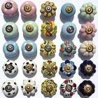 Ceramic Door Knobs  Handles Drawer cupboard wardrobe porcelain china pulls