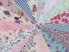 Handmade Fabric Floral Bunting Different Lengths~Designs Weddings Vintage Shabby