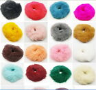ab090m28 U Pick Real Genuine Rabbit Fur Hair Band Hair Bobble Accessories