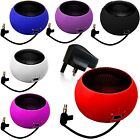 3.5mm PORTABLE MINI CAPSULE SPEAKER+BLACK PLUG WORKS WITH NOKIA LUMIA 1020