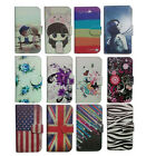 deluxe wallet cartoon cute case Cover For HTC