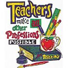 TEACHERS T-SHIRT UNISEX PROFESSION OCCUPATION TEACHING