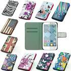 leather case mobile phone cover wallet card For Alcatel One Touch Pop C5 OT5036D