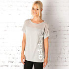adidas Womens Rl Image T-Shirt In Grey Marl From Get The Label