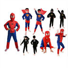 New Batman Spiderman Superman Zorro Halloween Costumes For Kids Fantasia Fancy