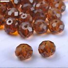 Quality Crystal Tangent plane Spacer Charms beads 6MM 8MM 10MM