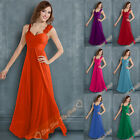 Long Formal Evening Long Gown Prom Party Ball Bridesmaid Dresses Various Size