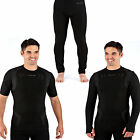 Mens Body Compression Thermal Warm Baselayer Sport Gym Long Johns Sleeve Top