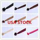 USA STOCK! Full Head Indian Remy 18inch Nail Tip Human Hair Extensions,100S,80g