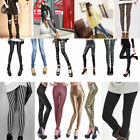 NEW LADIES SKINNY FIT COLOURED STRETCHY JEANS WOMENS JEGGINGS TROUSERS