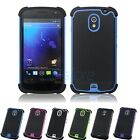 Hybrid Silicone + PC Rugged Case Cover for Samsung i9250 Galaxy Nexus 3 Prime