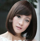 NEW Design Ladies Short Straight BoB Hair Full Cosplay Costume Wig  JRAU