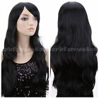 Hot Women Long Wave Curly Fancy Dress Wigs Costume CosplayParty Hair Wigs+Cap