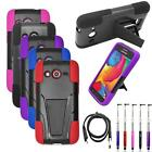 Phone Case For T-Mobile Samsung Galaxy Avant Rugged Cover Stand +USB Charge+Pen