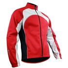 2015 New Mens Fleece Thermal Bike Bicycle Winter Jacket Casual Jersey Coat Red