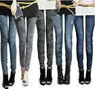 Hot Womens Denim Jeans Sexy Slim Leggings Jeggings Tights Stretch Pants Trousers