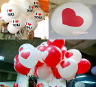 fashion Birthday Wedding Party Decor heart-shape Latex Balloons make a proposal
