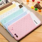 Cute ice Cream Rubber Soft Silicone Case Cover Hand Strap For iPhone 6 Air 4.7