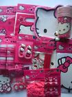 HELLO KITTY Birthday PARTY RANGE (Tableware Balloons & Decorations){Gemma}