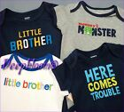 CARTER'S OUTFIT BODYSUIT SHORT ONE PIECE BABY BOYS NB 3 6 9 12 18 24 MONTH NEW