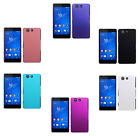 Hard Rubberized Matte Plastic Snap-On Cover Case For Sony Xperia Z3 Compact
