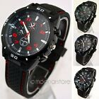 New Unisex Casual Sport Quartz Analog Stainless Steel Clock Men's Wrist Watch