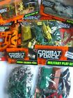 COMBAT FORCE - Plastic Toy Soldier Packs/Battle/Army Play Sets {Fixed £1 p&p}