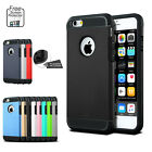 Slim Tough Armor Heavy Duty Hybrid Silicone Case Cover for Apple iPhone 6s 6