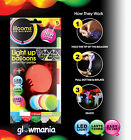 ILLOOMS LED BALLOONS LIGHT UP ILLOOM PARTY GLOWING CHOICE OF COLOURS AND DESIGNS