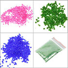 CZECH 3000pc CRAFT GLASS BEAD 2MM SEEDS GEMS  JEWELLERY MAKING KIT SMALL TINY