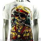 Minute Mirth T-Shirt Sz M L XL Tattoo Skull Police Soldier Skate Street H118 D1