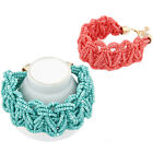 Hot Womens European Bohemian Style Retro Beads Knotted Bracelet New