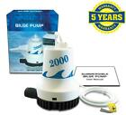 NEW++2000+GPH++Marine+Bilge+Pump+12+Volt+4+year+Warranty