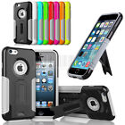 Heavy Duty Hybrid Armor Stand Case Hard Cover Shockproof For Apple iPhone 6 4.7""