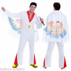 Mens Rock Star Elvis Las Vegas Fancy Dress Party Costume
