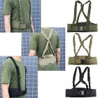 """MOLLE Tactical Waist Soft Padded Belt with Suspender Adjust from 34"""" to 65"""""""