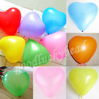 20/50/100Pcs Mixed Heart Shape Latex Balloons Birthday Wedding Party Supplies