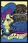 Music Concert Grateful Dead Canned Heat Blues Vintage Poster Repro FREE S/H
