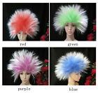 Cool Unisex Clown's Hedgehog Hair Full Cosplay Party Wig Hallow Costume Wigs+Cap