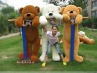 100% Cotton 160-200CM Giant Big Cute Plush Stuffed Teddy Bear Huge Soft Toy Best