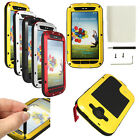 Gorilla Glass Aluminum Metal Waterproof Case For Samsung Galaxy S3 i9300 Cover