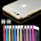 Aluminum Slim Metal Bumper Frame Case  Cover for Apple iPhone 6 | iPhone 6 Plus