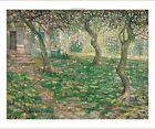"""ERNEST LAWSON """"French Farmhouse, Spring"""" orchard CANVAS various SIZES, BRAND NEW"""