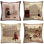 New  Fashion Double Jacquard Decorative Throw Pillow Case Cushion Cover 18*18