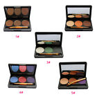 Professional 3 Color Glitter Shimmer Makeup Eyeshadow Palette Party Make Up Tool